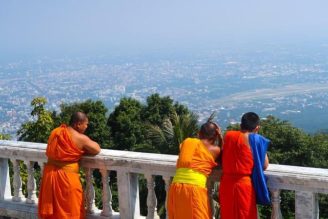 Monk, Buddha, Religion, Temple, Travel, Monastery
