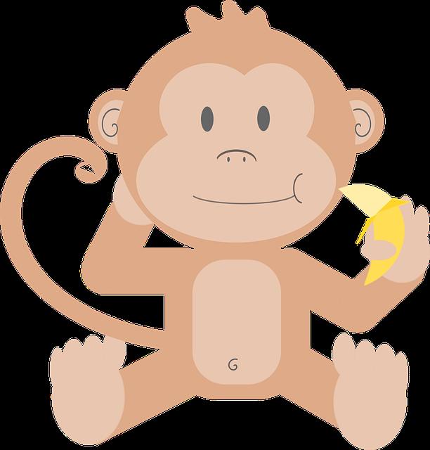 Animal, Cartoon, Monkey, Primate, Simian