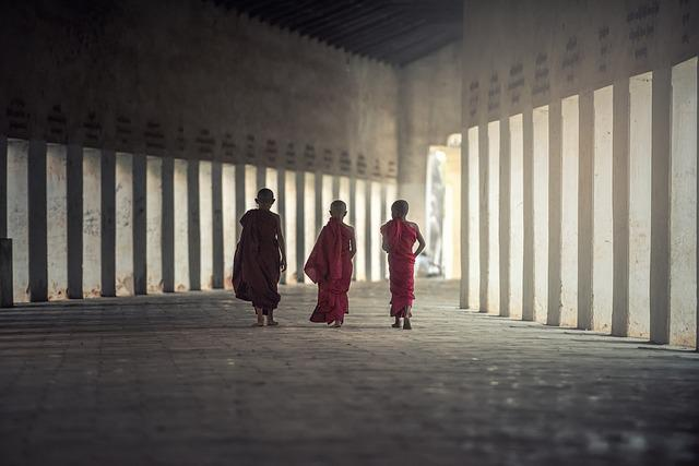 Buddhism, Monks, Monastery, Asia, Boys, Buddhists