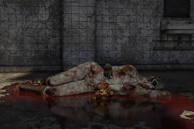 Horror, Blood, Monster, Bloody, Halloween, Female