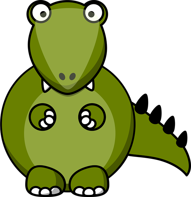 Dino, Dragon, Dinosaur, Animal, Monster, Cute, Cartoon