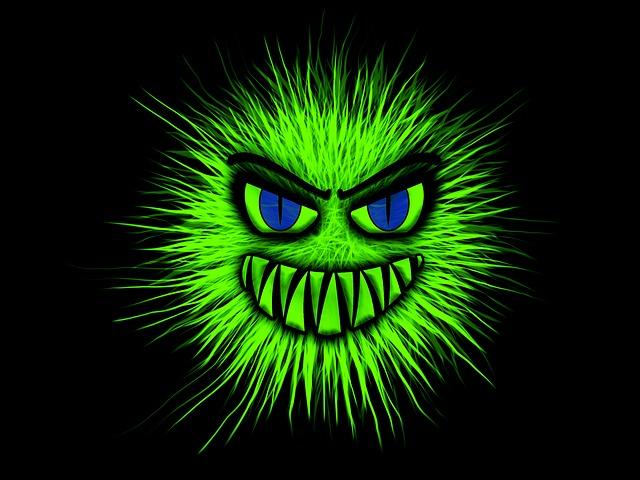 Monster, Green, Evil, Common, Aggressive, Bite