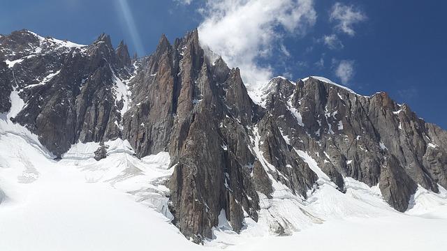 Aiguilles Du Diable, Mont Blanc Du Tacul, Chamonix