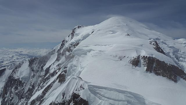 Mont Blanc, Glacier, High Mountains, Mountains, Alpine