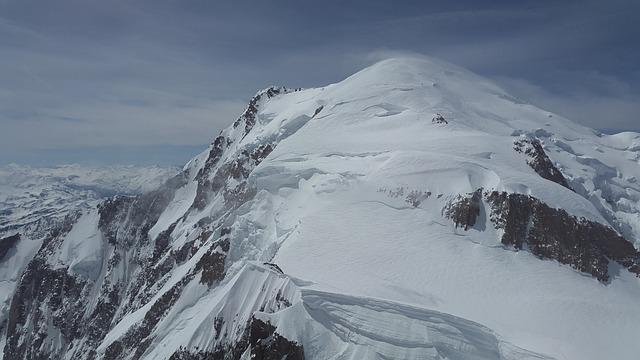 Mont Blanc, Glacier, High Mountains, Mountains, Alpine