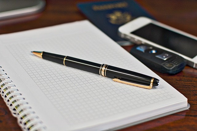 Notepad, Mont Blanc, Notes, Business, Journal, Iphone