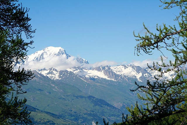Mont Blanc, Savoie, Mountains, Mont Blanc Massif