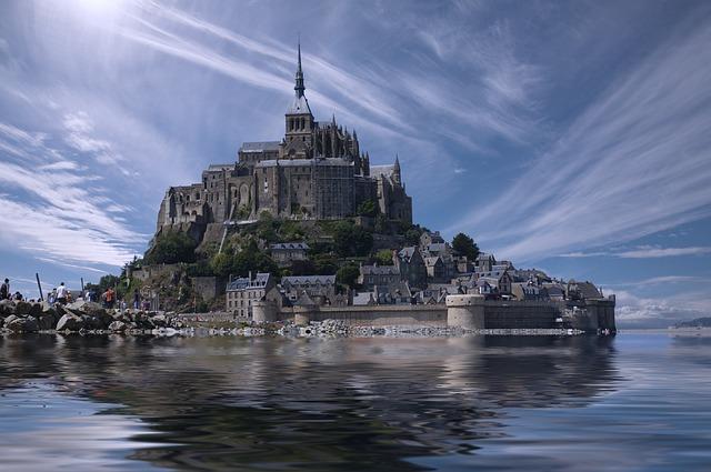 Mont Saint Michel, France, Normandy, Europe