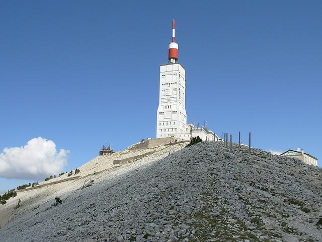 Mountain, Mont Ventoux, Weather Station, Provence