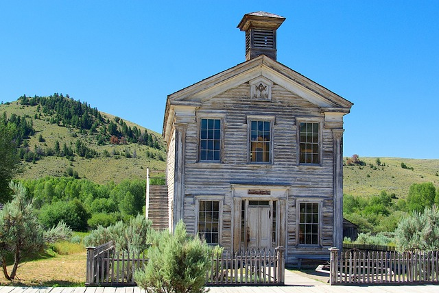 Bannack School And Masonic Lodge, Montana, Bannack