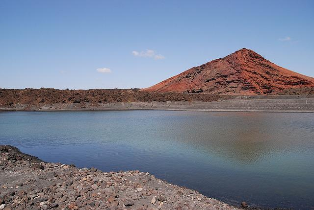 Lanzarote, Montana Of The Vieja, Volcano