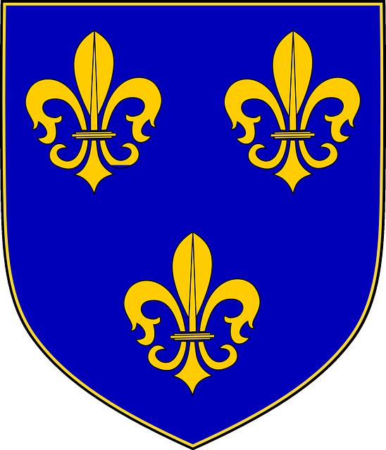 Montgomery, Fluer De Lis, Coat Of Arms, Emblem, Symbol