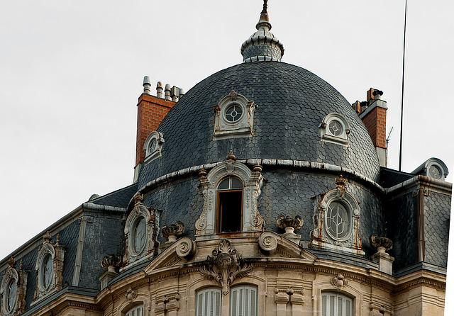 Montpellier, Roofing, Dome, Slate