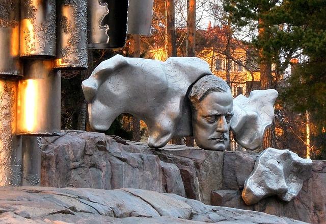 Sibelius, Monument, Memorial, Finnish, Art, Statue