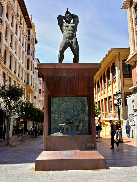 Monument, Barakaldo, Euskadi