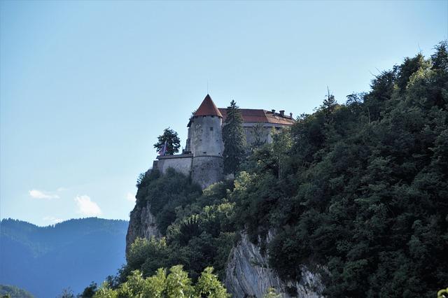 Bled Castle, Bled, Rock, Monument, Slovenia
