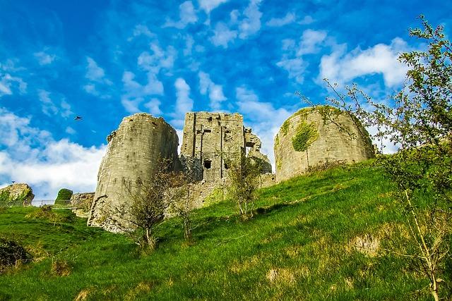 Corfe Castle, Monument, England