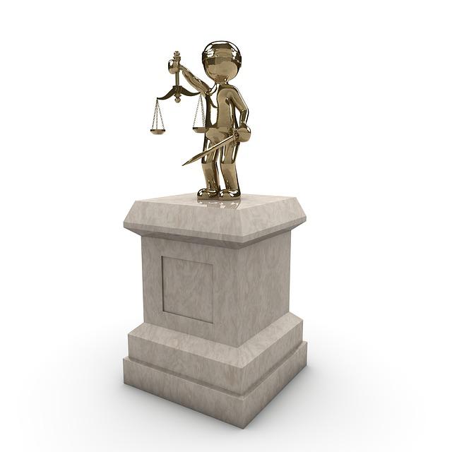 Monument, Justice, Force, Globe, Metal, Sculpture