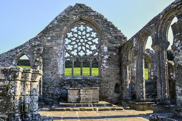 Ruin, Chapel, Pierre, Former, Architecture, Monument