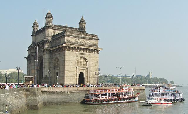 Gateway Of India, Monument, Mumbai, India, Waterfront