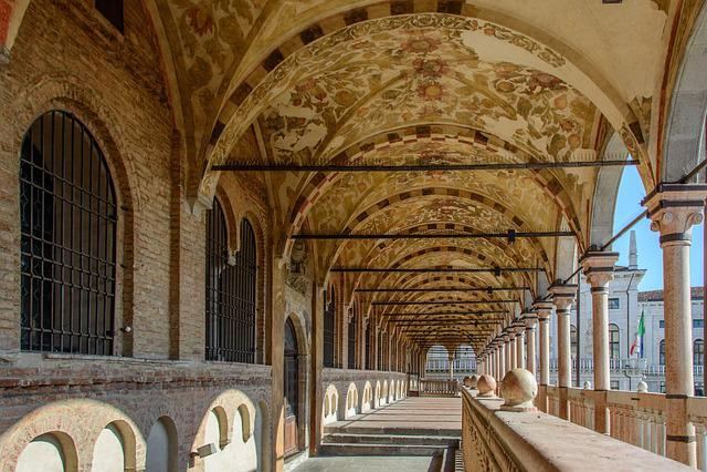 Arcades, Hall, Palace, Monument, Historically