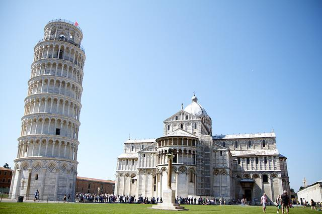 Italy, Pisa, Tower, Monument, History