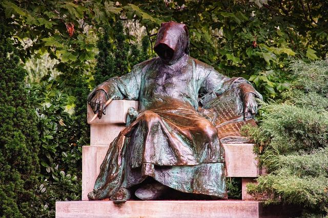 Vajdahunyadvár, Anonymus, Monument, Budapest, Metal