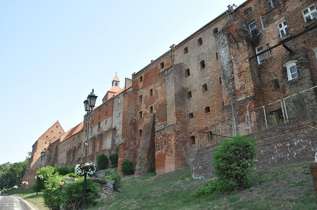 Old Town, Buildings, Architecture, Monument, Grudziadz