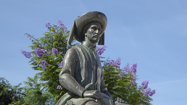 Lagos, Portugal, Monument, Henry Of The Navigator