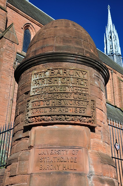 Scotland, Glasgow, Church, Monument