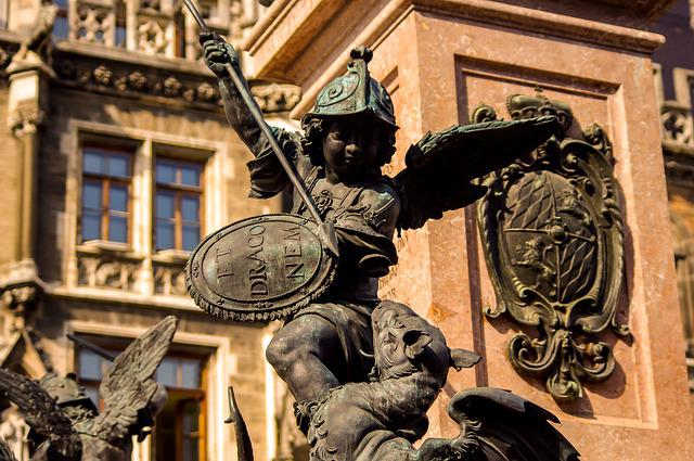Germany, Statue, Monument
