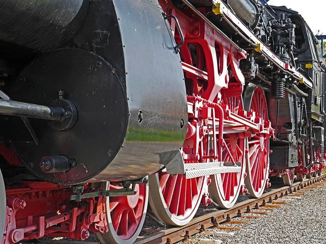 Steam Locomotive, Monument, Offenburg, Baden, Ivh