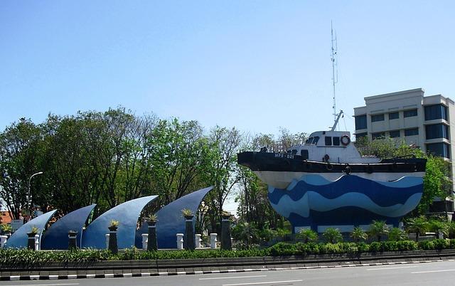 Monument, Kapal, Tanjung Perak, Surabaya, Jawa Timur