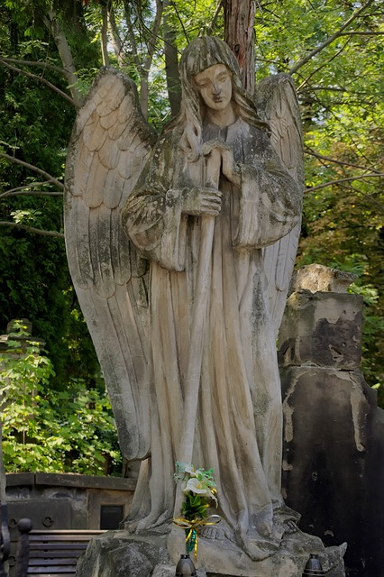 Cemetery, Sculpture, The Tomb Of, Monument, Figure