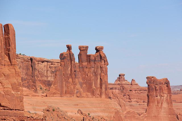 Three Kings, Arches National Park, Monument, Landscape