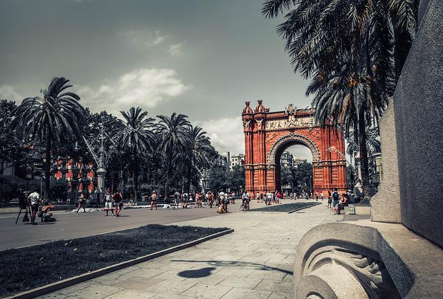 Barcelona, Arc, Triumph, Architecture, Monument
