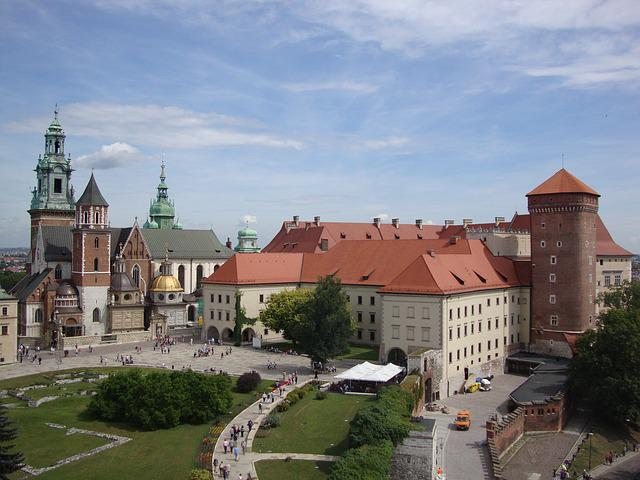 Kraków, Poland, Wawel, Castle, Monument