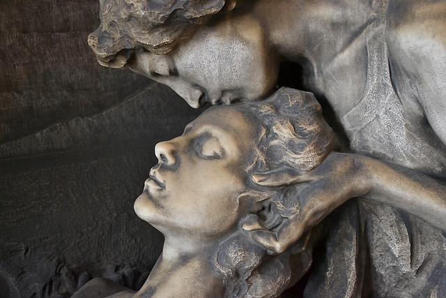 Milan, Cemetery, Sculpture, Monumentale