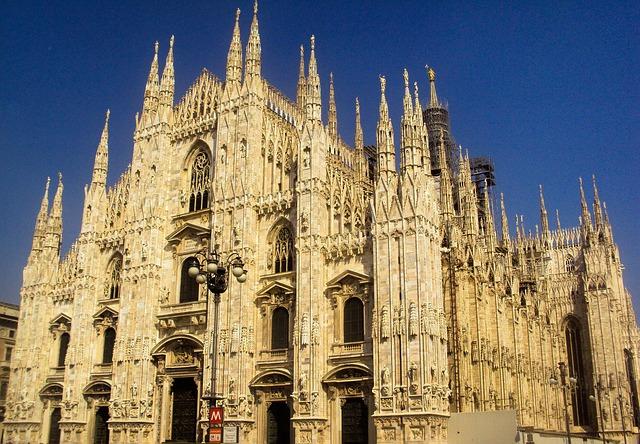 Milan, Italia, Italy, Holidays, Landscape, Monuments