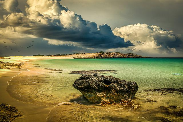 South Sea, Landscape, Nature, Mood, Atmosphere, Clouds