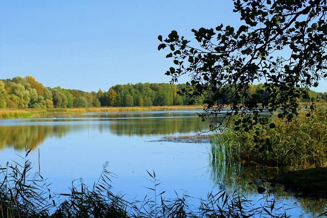Lake, Water, Landscape, Figure, Nature, Scenery, Mood