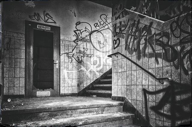 Lost Places, Black White, Pforphoto, Mystical, Mood