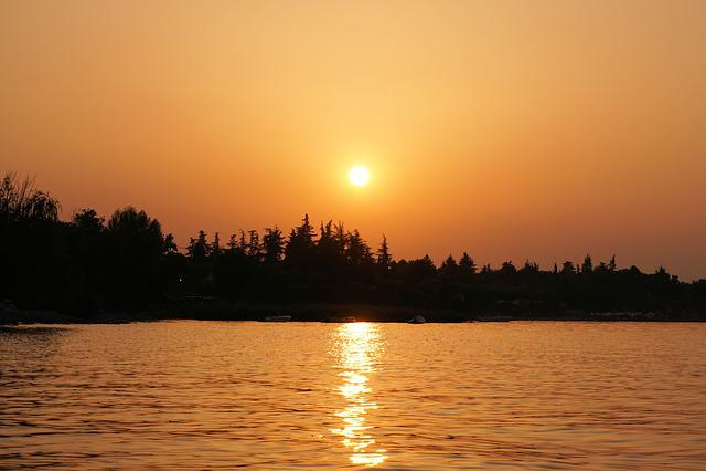 Garda, Sunset, Lake, Romance, Water, Mood, Italy