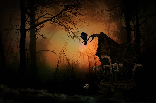 Witch's House, Creepy, Forest, Weird, Mood, Mystical