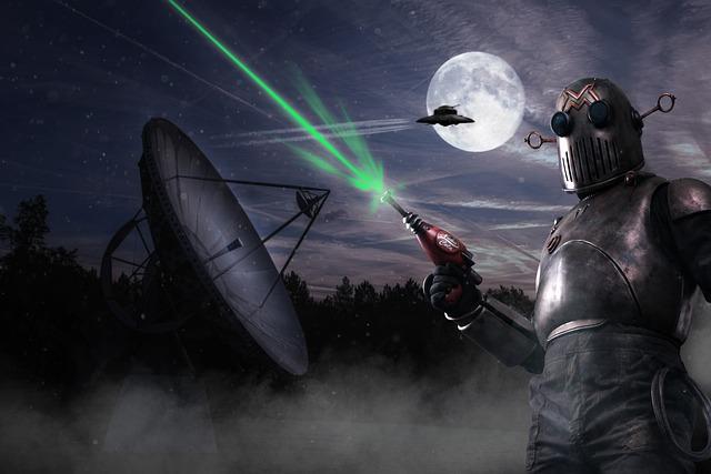 Haunebu, Astropeiler, Ufo, Fan Art, Moon, Laser, Alien