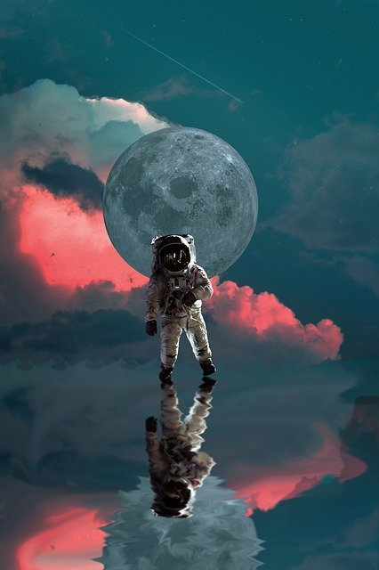 Astronaut, Moon, Space, Nasa, Planet, Star, Universe