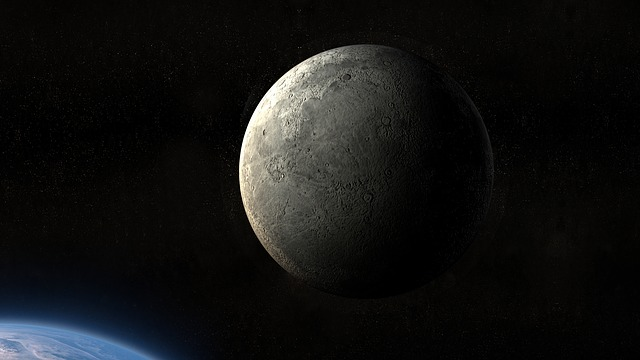 Moon, Earth, Planet, Universe, Atmosphere, Darkside