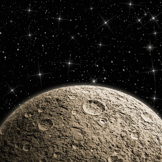 Galaxy, Moon Digital Paper, Texture, Pattern, Template