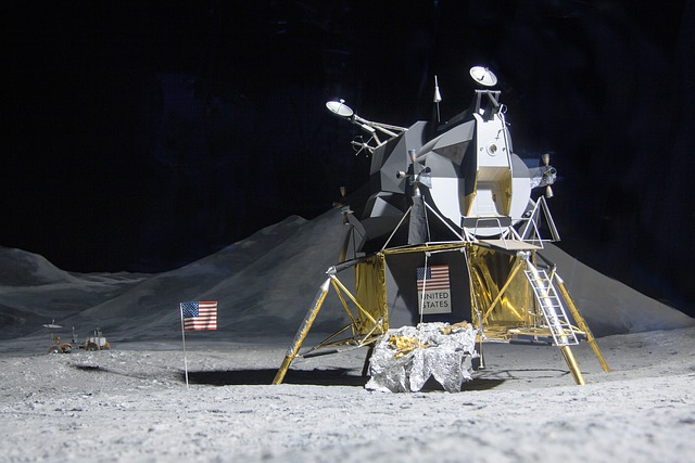 Moon Landing, Lunar Module Eagle, Space Travel