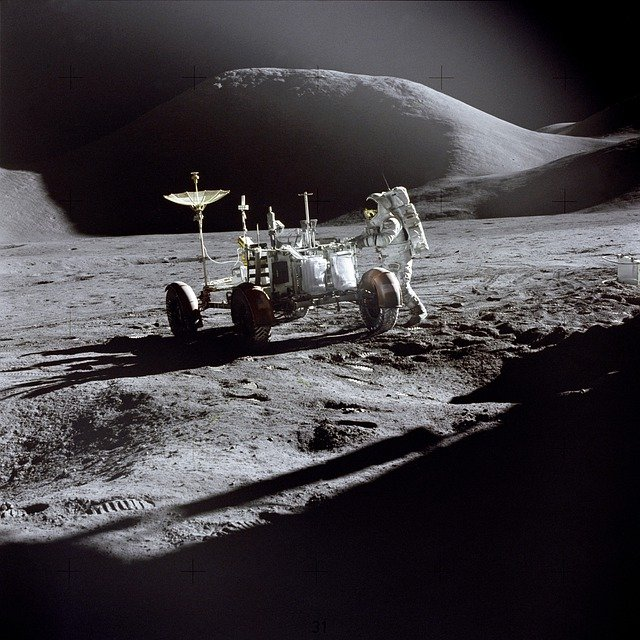 Moon, Moon Rover, Apollo 11, Moon Buggy, Astronaut